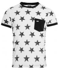 T-SHIRT POCKET STARS