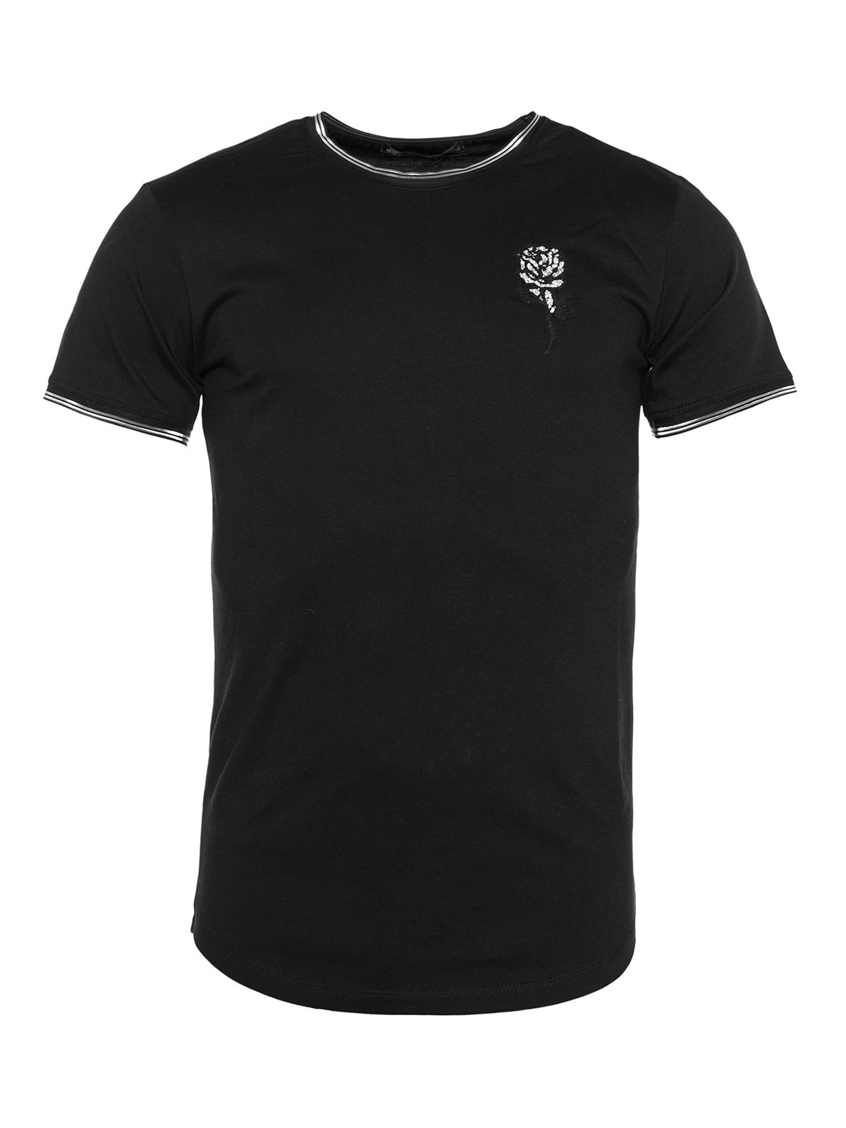 T-SHIRT SMK ROSE EMBROIDE
