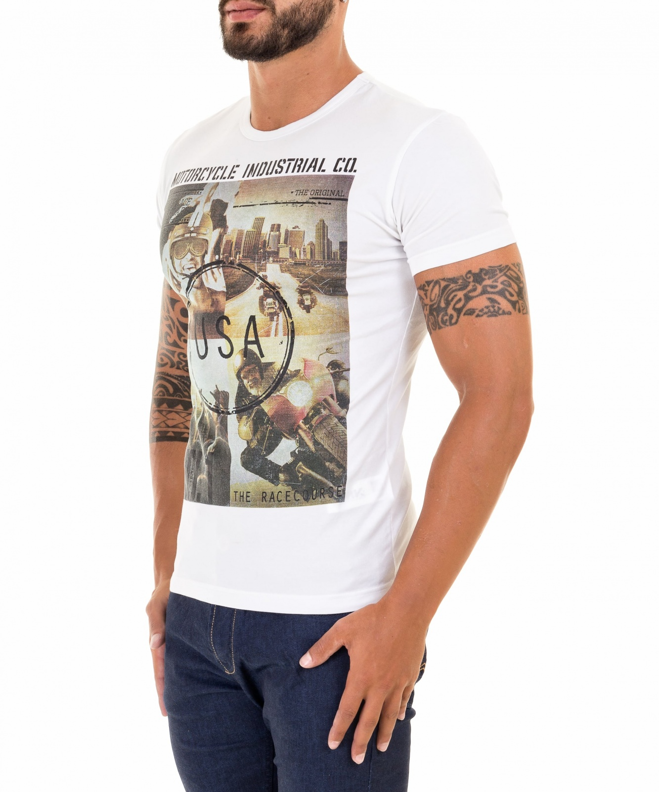 T-SHIRT MOTORCYCLE INDUST