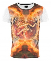 T-SHIRT DANCING IN FLAMES