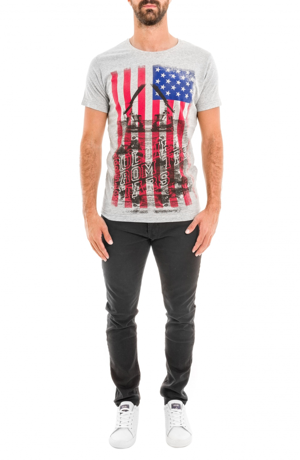 T-SHIRT SOLDIERS  STARS