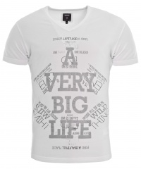T-SHIRT BLACK BIG LIFE
