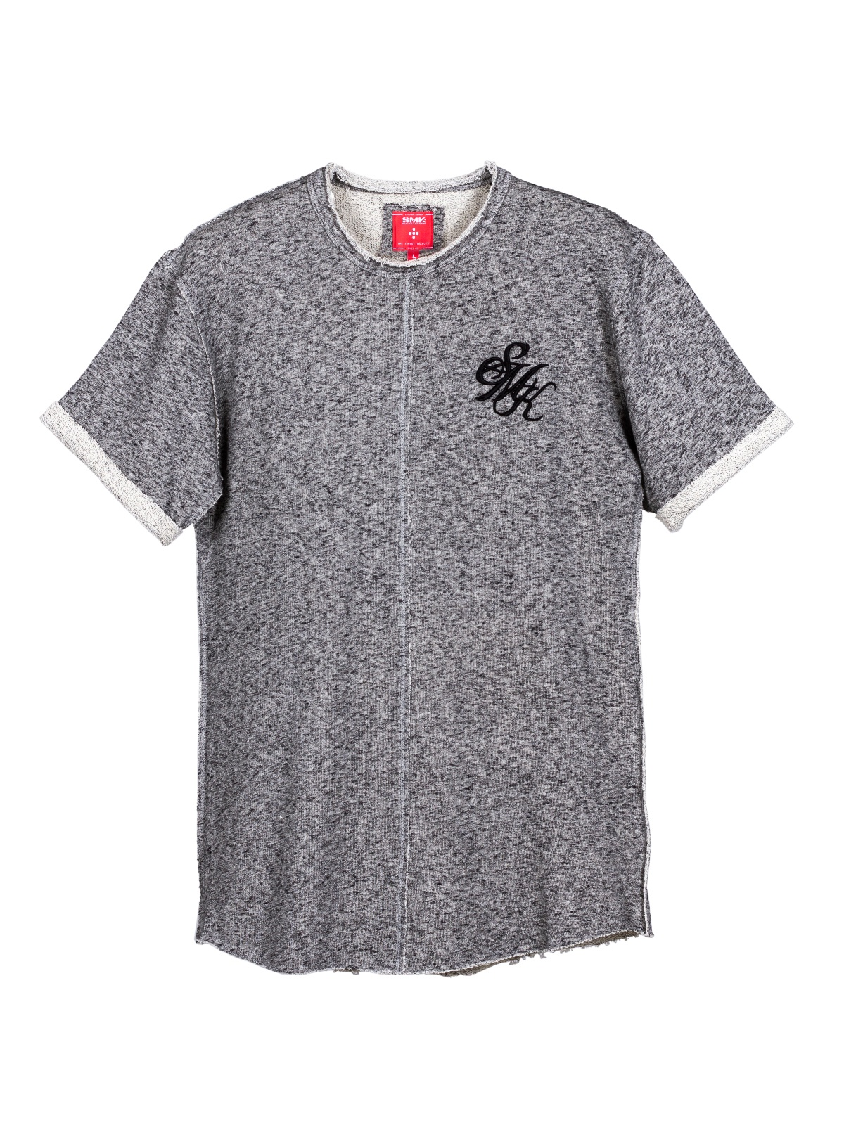 T-SHIRT SMK GRAY BORDAT