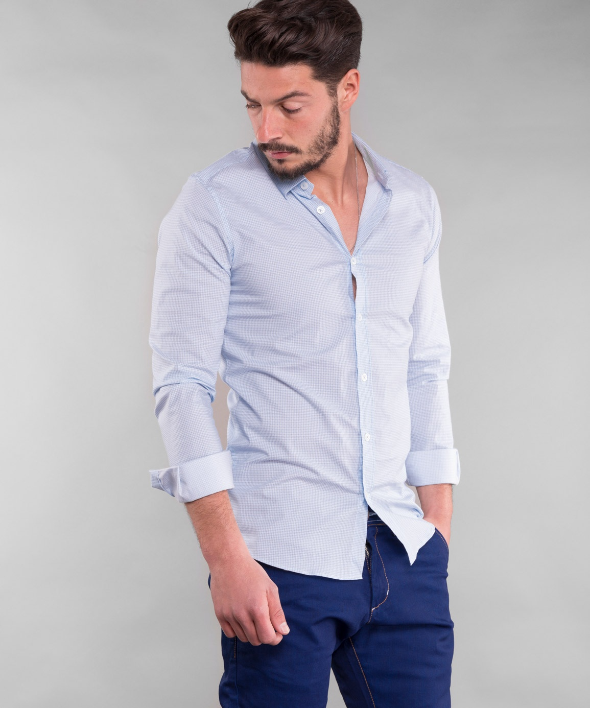 CAMISA SMK BLUE POINT