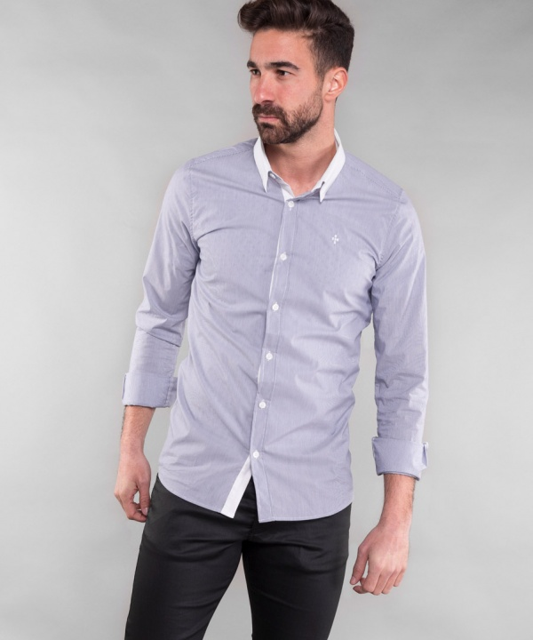 CAMISA SMK STRIPED BLUES