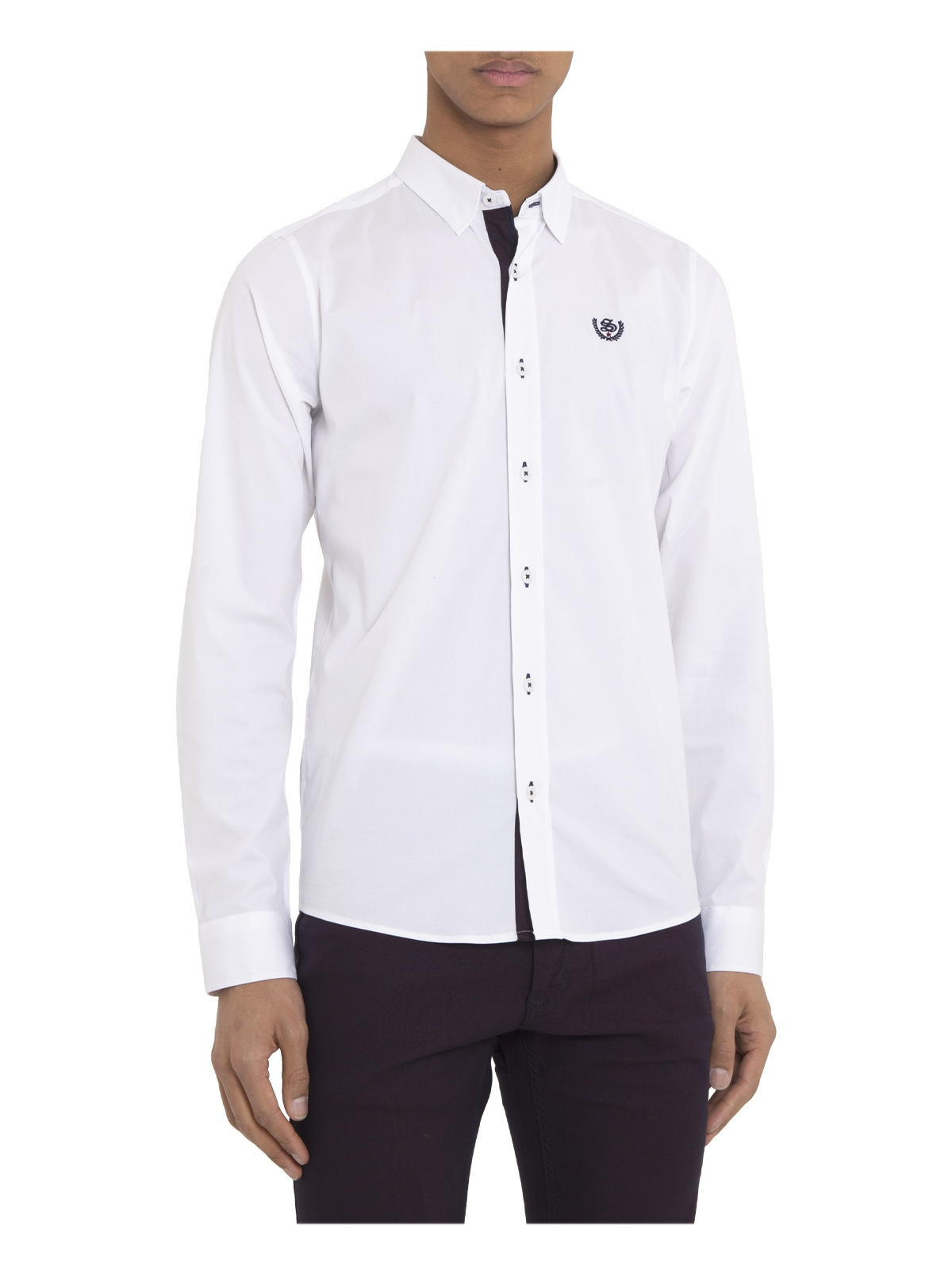 CAMISA SMK WHITE FASHION