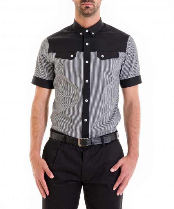 CAMISA WIDE LISTED