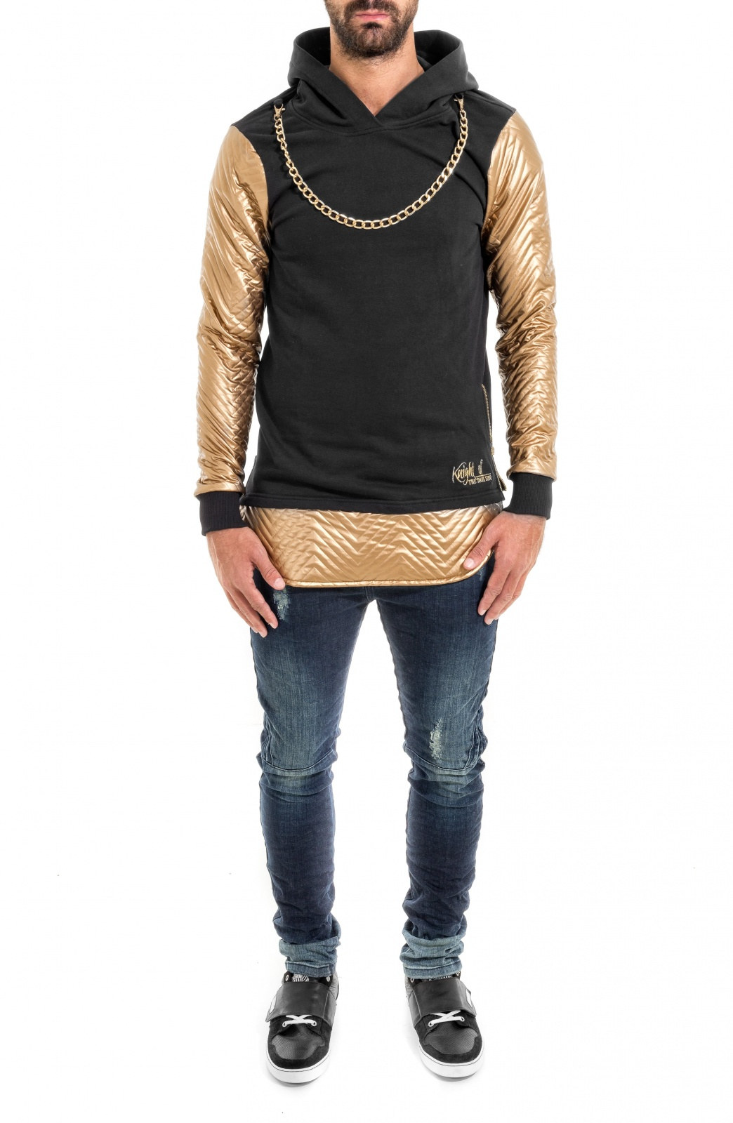 CAMISOLA GOLD&SILVER
