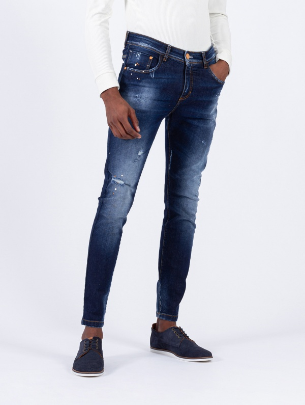 CALÇA SMK PAINT DENIM