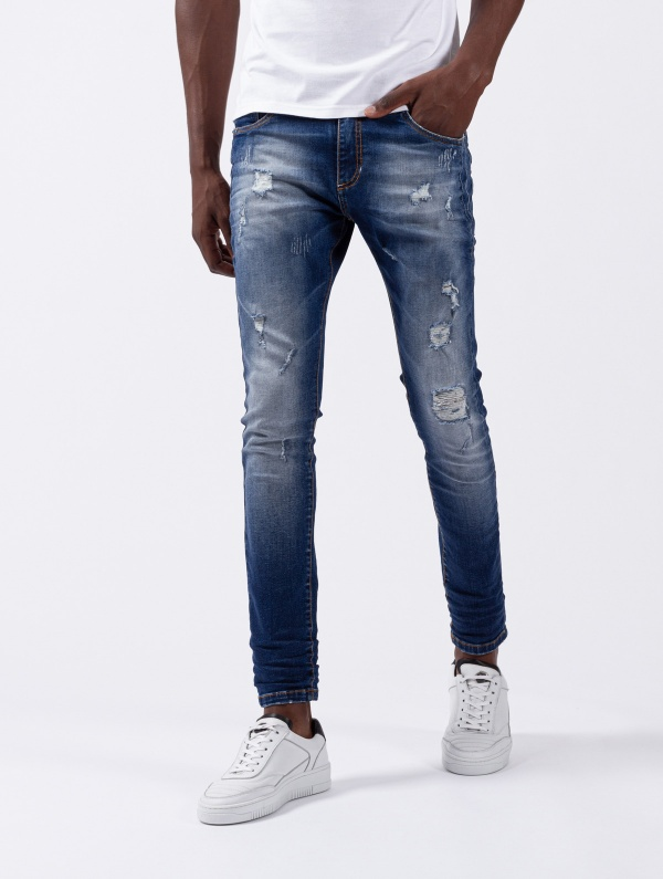CALÇA SMK WASHED SLIM FIT