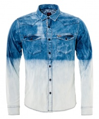 CAMISA DENIM WASHED C/M