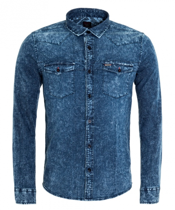 CAMISA DENIM LIGHT C/M
