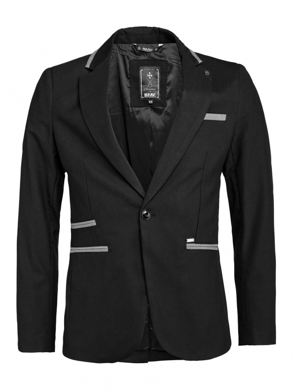 BLAZER SMK BLACK&GRAY LIN
