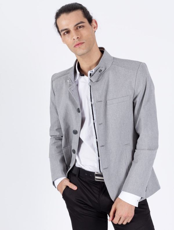 BLAZER SMK GRAY MIRROR
