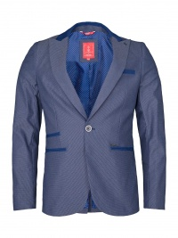 BLAZER SMK BLUE COLLAR