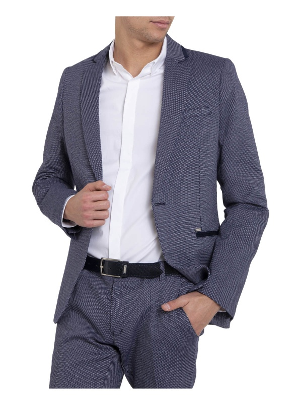 BLAZER SMK BLUE SLIM FIT